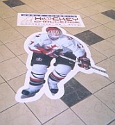Calgary Floor decal